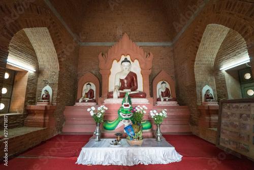 Foto op Plexiglas Historisch geb. buddha statues