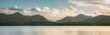 canvas print picture - Derwentwater in the English Lake District