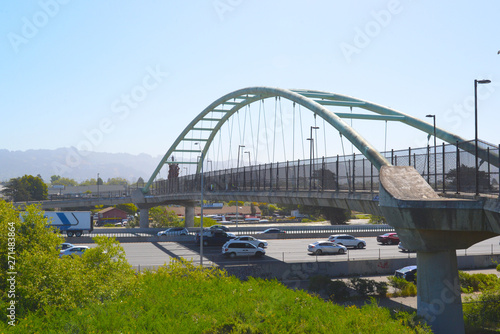 Photo Berkeley Foot Bridge across Interstate 80