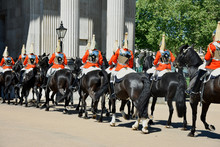 Royal Guards On Horseback Dres...