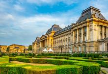 Royal Palace At Brussels, Belg...