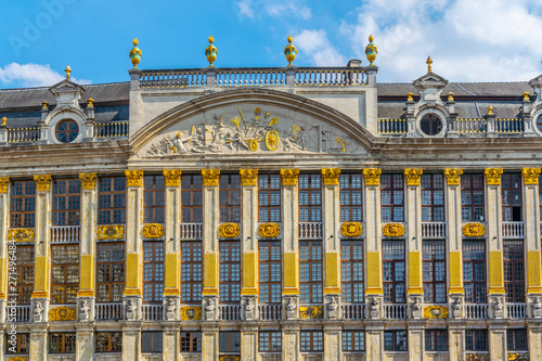 Fényképezés  Maison Grand Place situated on Grote Markt square in brussels, Belgium