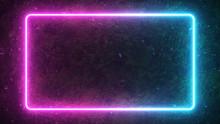 Rectangular Neon Shimmering Lu...