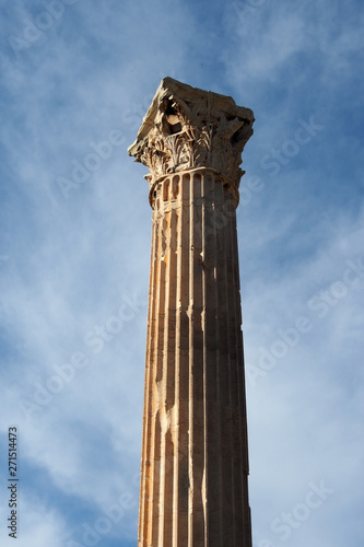 Obraz na plátně Athen: Korinthische Säulen