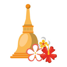 Big Bell And Blossom Icon