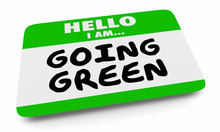 Going Green Save Planet Enviro...