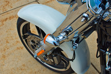 Motorcycle Front Wheel - Harley Davidson.