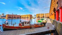 Royal Albert Dock In Liverpool, UK