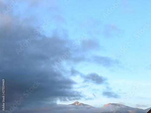 Fototapeta Landscape in Tropical Volcanic Canary Islands Spain obraz na płótnie