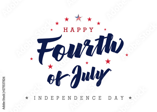 Fotografia Fourth of July, United state independence day greeting