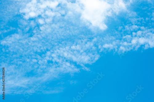 fototapeta na drzwi i meble Beautiful blue sky clouds for background.