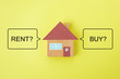 住宅購入または賃貸