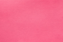 Coral Pink Felt Texture Abstract Art Background. Solid Color Wool Textile. Copy Space.