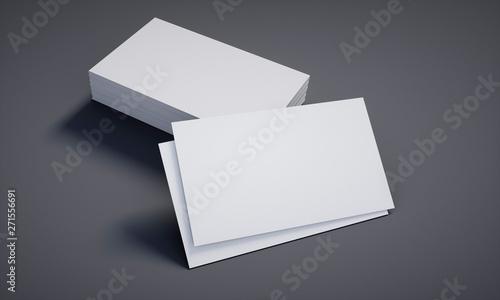 Leere Visitenkarten Mit Stapel Grau Kaufen Sie Diese