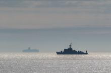 MINESWEEPER - Warship On Patrol In The Sea