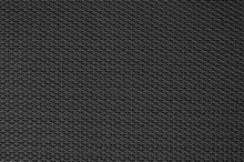 Black Rubber Texture Background With Seamless Pattern.