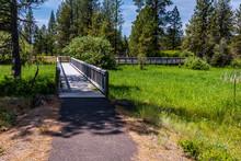 Footbridge Over Wetlands At Tu...
