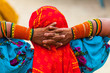 Leinwanddruck Bild - Traditional design, Kuna ethnic group village, San Blas archipelago, Kuna Yala Region, Panama, Central America, America