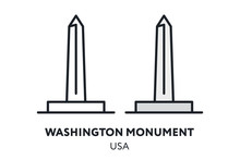 Washington Monument Obelisk US...