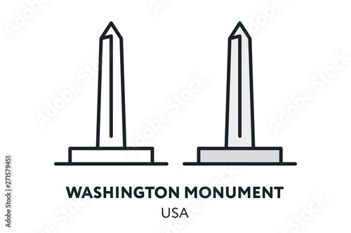 Papel de parede Washington Monument Obelisk USA Landmark Sight