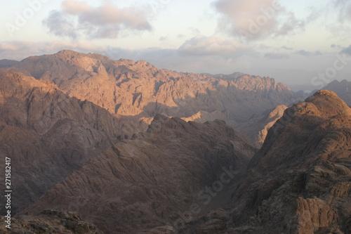 Foto auf Gartenposter Gebirge Mount Sinai