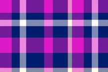Checkered Pattern In Scottish Style. Tartan. A Classic Christmas Geometric Pattern. Woolen Red Fabric