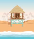 Summer and vacation hut design