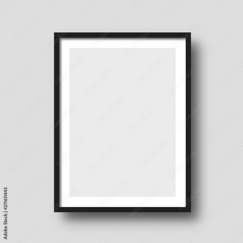 Fototapety, obrazy: Wall picture frame vector.