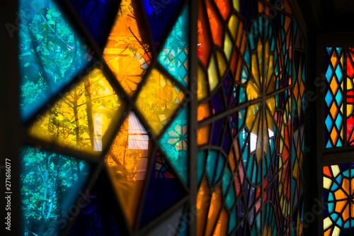 Cuadros en Lienzo  Stained glass window