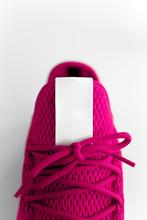 Unpaired Pink Sneaker