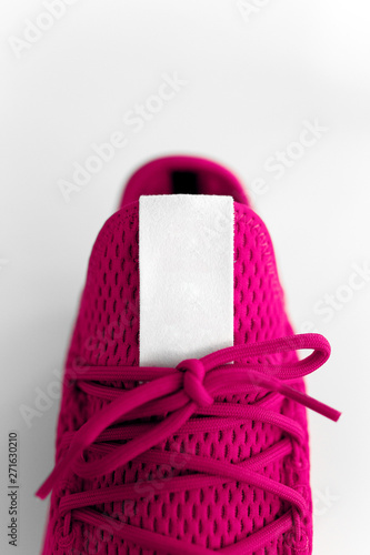 unpaired pink sneaker Canvas Print