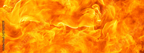 Fotobehang Vuur abstract blow up blaze, flame, fire element for use as a texture for banner background design concept