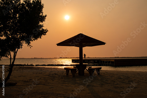 Fototapety, obrazy: sunset on the beach