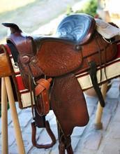 Handmade Saddle Western Style
