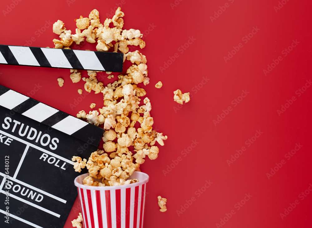 Blechschild Star Kino Popcorn