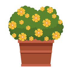 plant on a pot icon