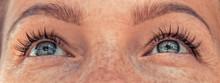 Beautiful Woman Eyes Sight