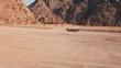 Cinematic mountain in Egypt desert