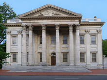 Historic First Bank Of The United States, Philadelphia, Constructed 1790