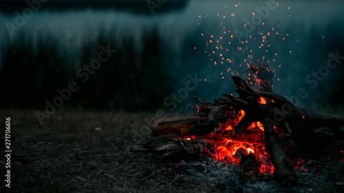 Photo Fuego de Campamento