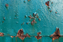 Corrosion Occurring On A Metal...