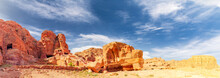 Ancient City Of Petra: Valley Of Tombs