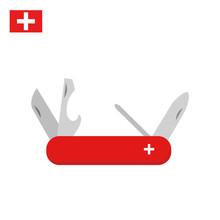 Swiss Multi-tool Knife In Clas...