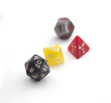 RPG Dices Isolated On White