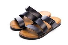 Mens Summer  Leather Sandals I...