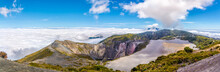 Panoramic View To The Crater O...