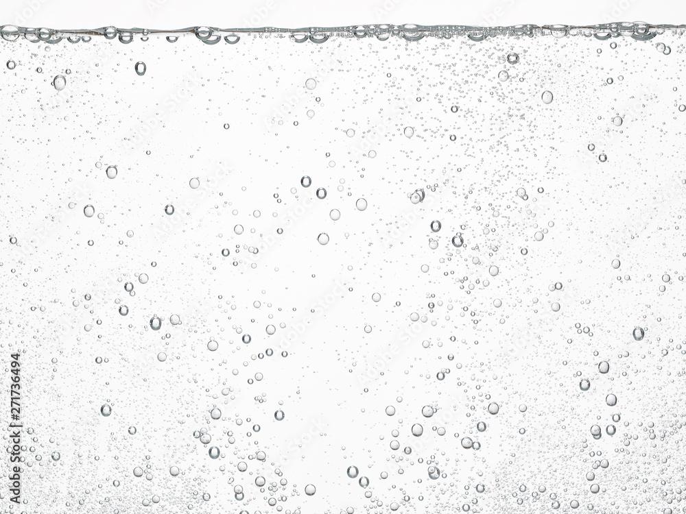 Fototapety, obrazy: soda water bubbles