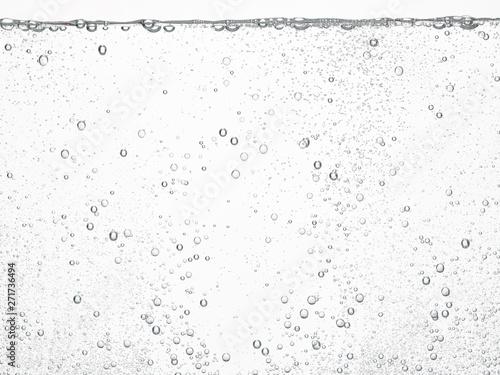 Cuadros en Lienzo soda water bubbles