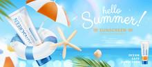 Summer Ocean Safe Sunscreen
