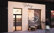 Bakery Storefront Mockup